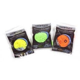 Henrys yo-yo touwtjes neon 6 stuks